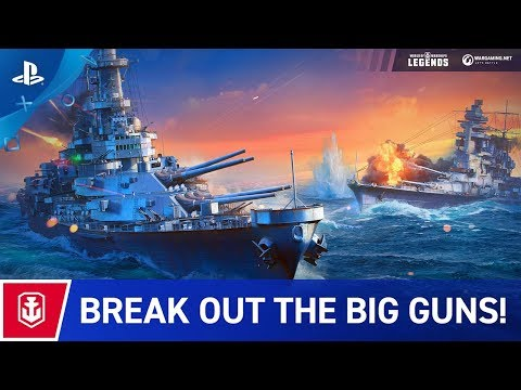 World of Warships: Legends - Launch Trailer   PS4