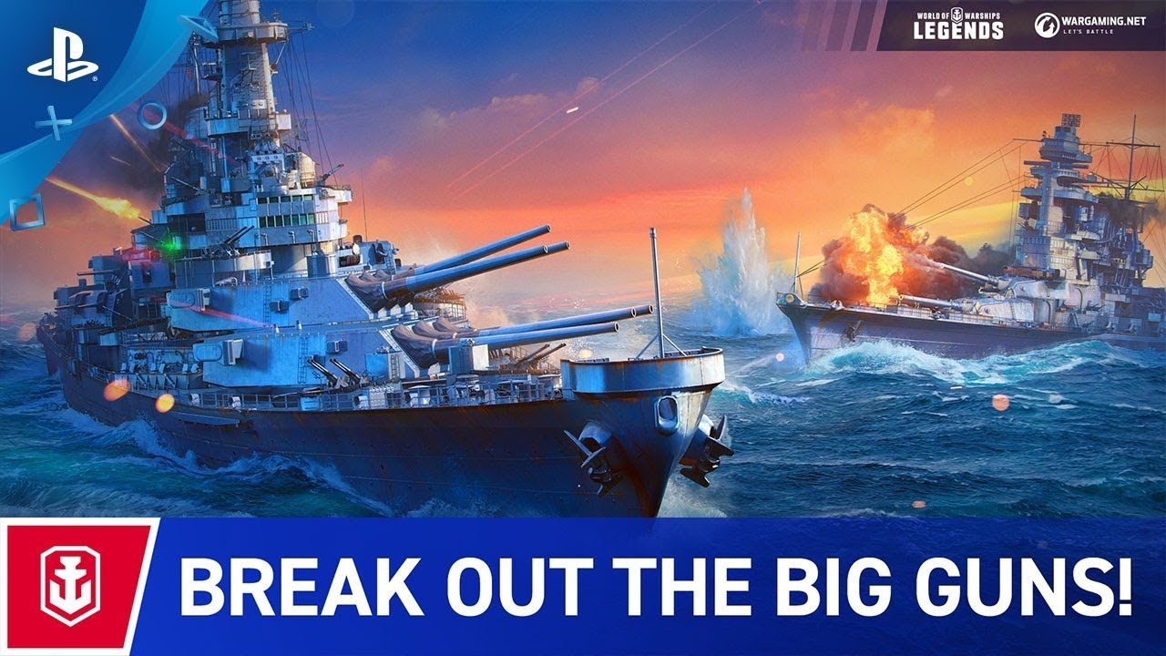 World of Warships: Legends - Launch Trailer | PS4