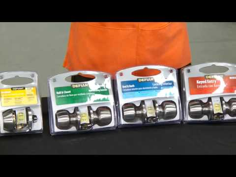home depot front door locksDefiant Door Locks for Pros  The Home Depot  YouTube