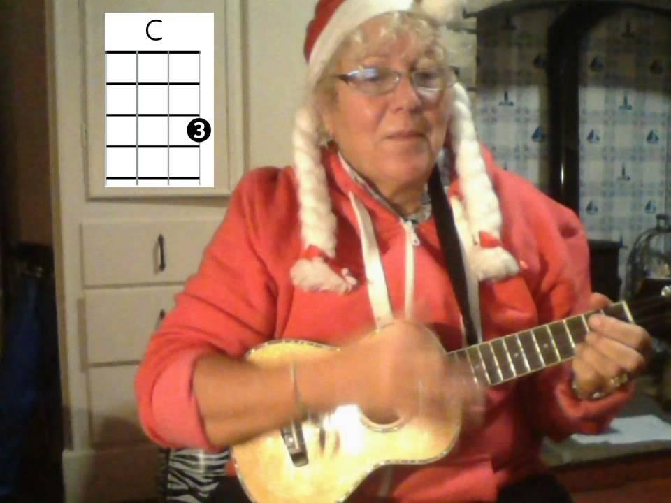 Santa Baby ukulele tutorial - YouTube