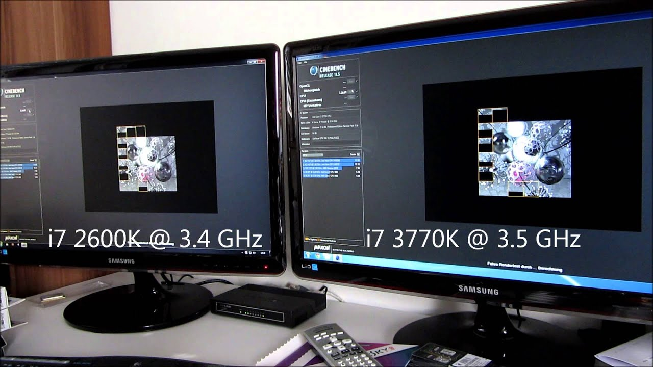 intel core i7 2600k vs i7 3770k benchmark youtube. Black Bedroom Furniture Sets. Home Design Ideas
