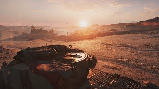 Very Beautiful Tank Battle from Epic WW2 FPS Game on PC Battlefield 5
