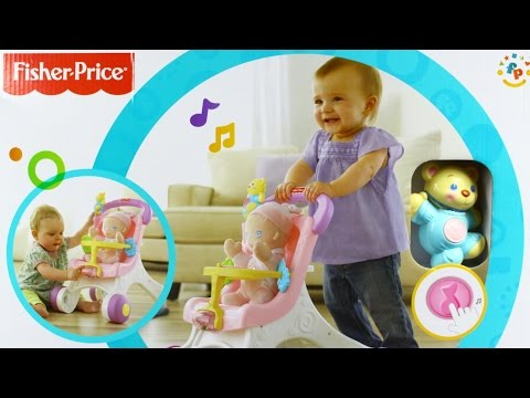 Stroll Along Walker / Моя первая коляска - Brilliant Basics - Fisher-Price  - M9523