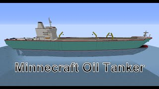 Minecraft: HUGE Oil Tanker