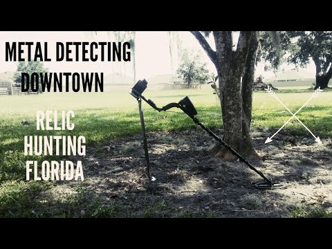 Metal Detecting Abandonded Block In Historic Downtown