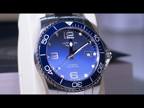 Мои любимые часы!    Longines Hydroconquest 2018