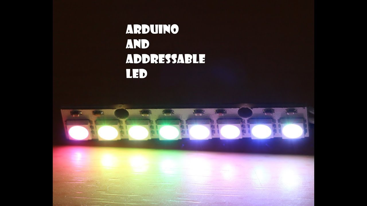 programming addressable rgb led strip with arduino [ 1280 x 720 Pixel ]