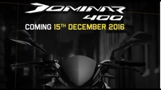 New Bajaj Pulsar Dominar/Kratos 400 Launching 15th December 2016 ✔