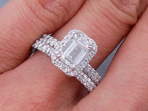 custom diamond emerald engagement rings ring cut