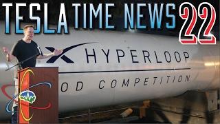 Tesla Time News 22 - Hyperloop Competition!