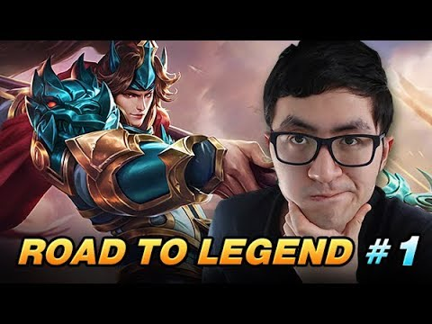 Road To Legend #1 - feat. Layla & Zilong | How to Rank Up | Mobile Legends Gameplay + Tips & Tricks