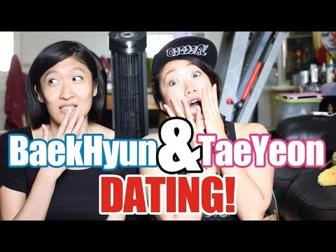 baekhyun and taeyeon dating reaction