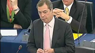 Nigel Farage reprimanded for criticising Baroness Ashton (FULL VERSION)
