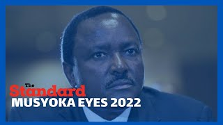 Kalonzo Musyoka says he will not support Odinga when Uhuru retires in 2022.
