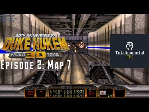 (2016) Duke Nukem 3D: 20th Anniversary World Tour: Episode 2 - Map 7: Lunar Reactor |