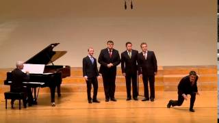 "Die Singphoniker perform ""The syncopated clock"" Leroy Anderson (arr. Christian M. Schmidt)"