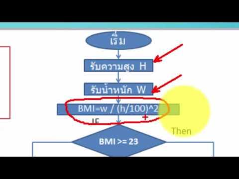เขียนโปรแกรม BMI ด้วย MS Visual Basic 2010 (1/2)