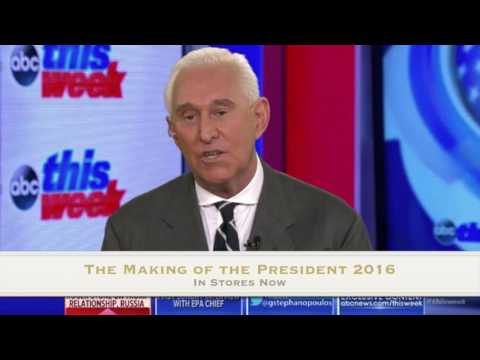 Great Roger Stone Interview On Russian Hacking