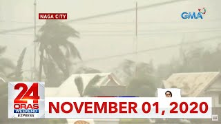 24 Oras Weekend Express: November 1, 2020 [HD]