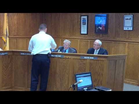 Bladen County Board of County Commissioners meeting on Nov. 14th, 2016