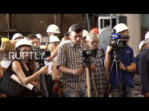 Russia: First post-Soviet cruise liner to be built in Russia laid down on Volga River