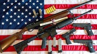 Die Amis und ihre Waffen im Land der Revolver