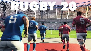 RUGBY 20 ► CARRIÈRE ET GAMEPLAY