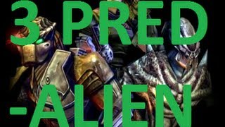 Aliens Vs Predator 2: Primal Hunt (Predalien) Walkthrough Final Part 3 HD