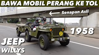 JEEP WILLYS 1958 INI SAYA GEBER TOP SPEED