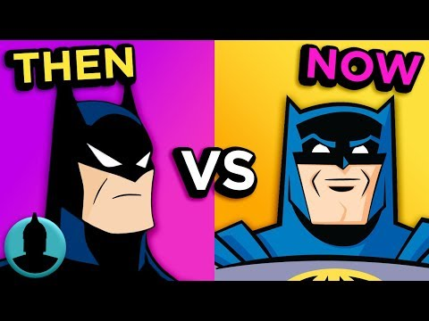 Then Vs. Now - Batman Animated Series - The Evolution of Batman Cartoons (Tooned Up S3 E26)