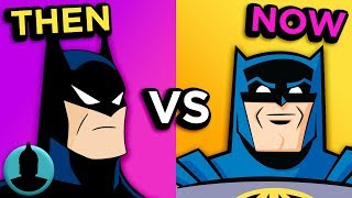 Video Then Vs. Now - Batman Animated Series - The Evolution of Batman Cartoons (Tooned Up S3 E26) download MP3, 3GP, MP4, WEBM, AVI, FLV November 2017