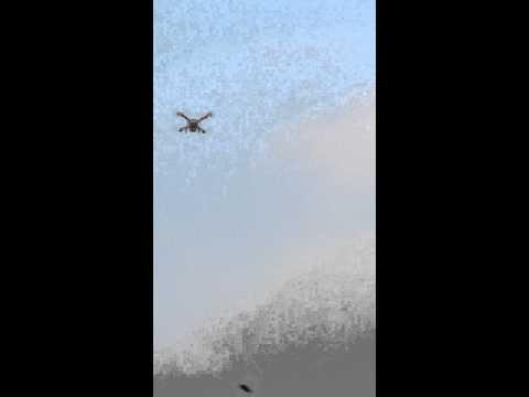 Drone testing in Shenzhen