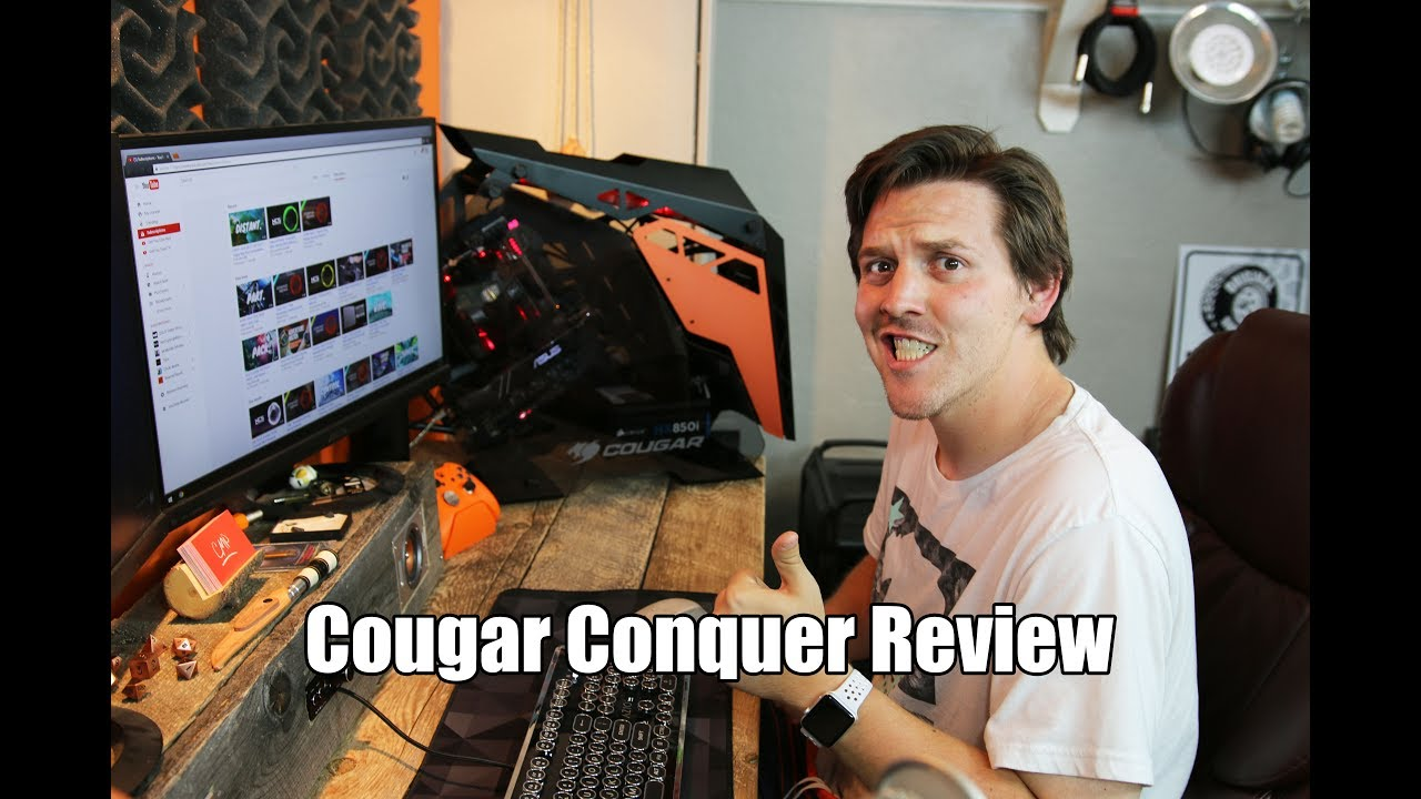 Cougar Conquer Build Review