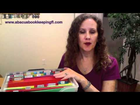 abacus bookkeeping llc how to set up a filing system for your