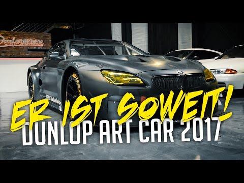 JP Performance - Er ist soweit! | BMW M6 GT3 Dunlop Art Car 2017