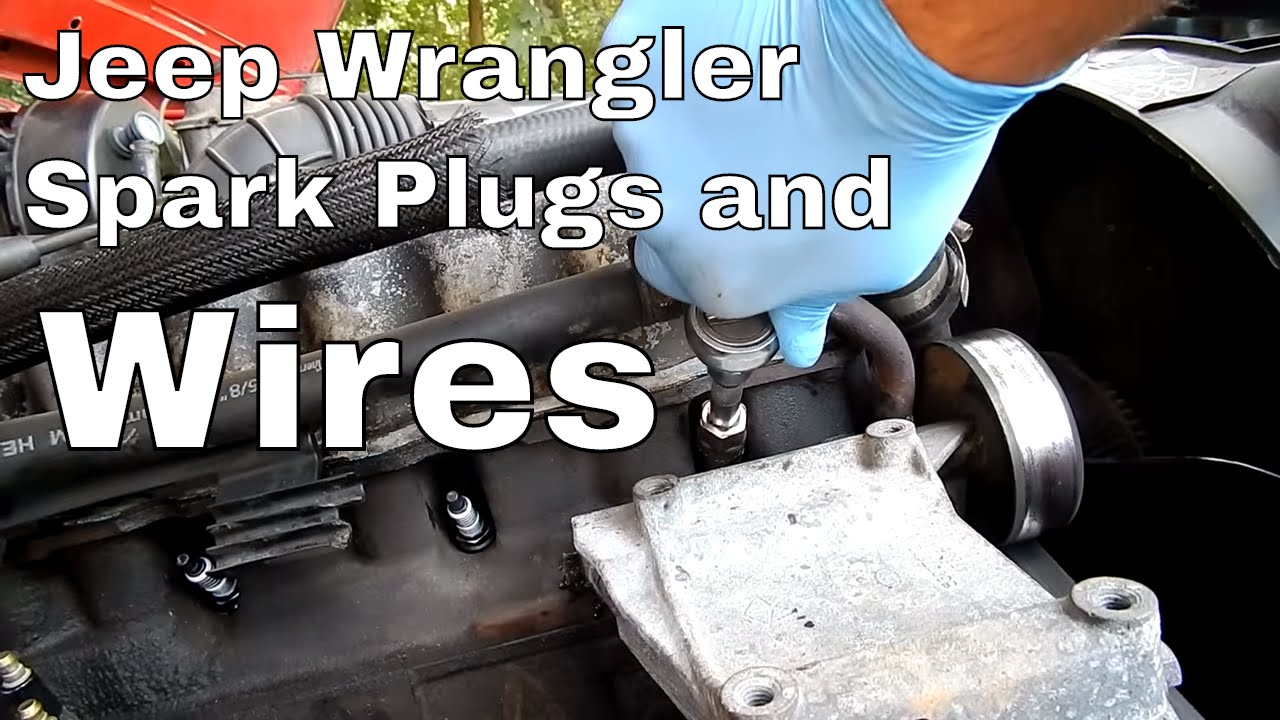 How To Change Spark Plugs And Wires On A Jeep Wrangler Youtube 2007 Liberty Sport Wiring