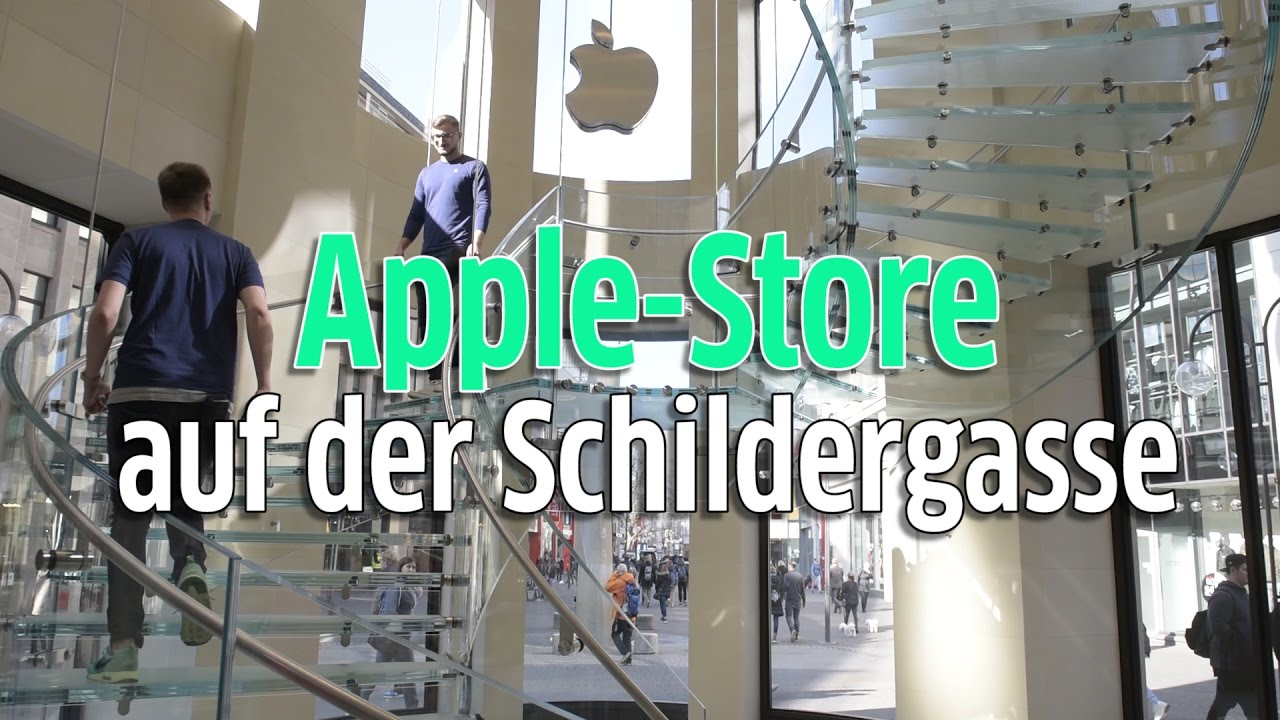 apple store auf der schildergasse in k ln enth llt so sieht 39 s innen aus youtube. Black Bedroom Furniture Sets. Home Design Ideas