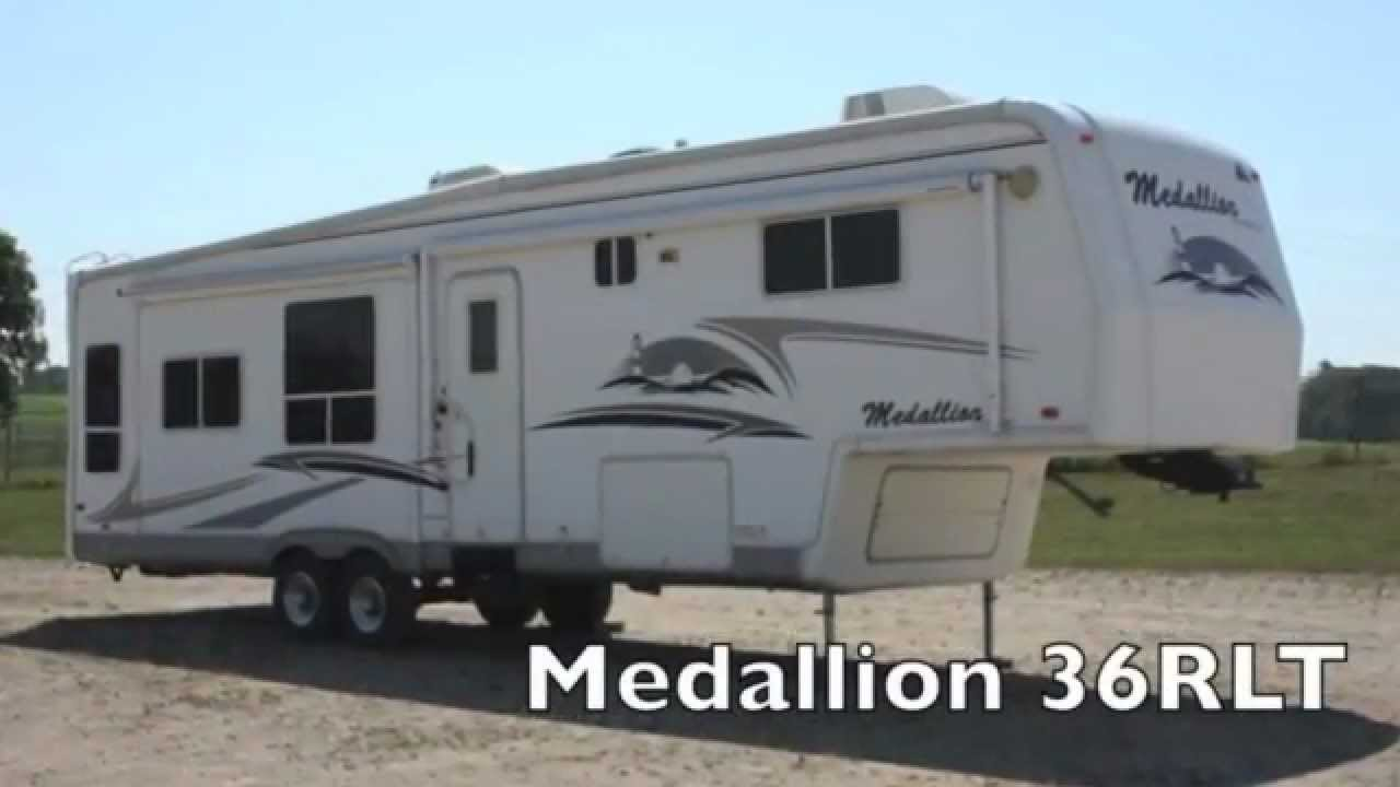 Motorcoach For Sale >> 2005 McKenzie Medallion 36RLT - Used 5th Wheel for Sale - YouTube