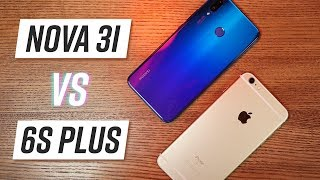 So sánh Huawei Nova 3i & iPhone 6s Plus