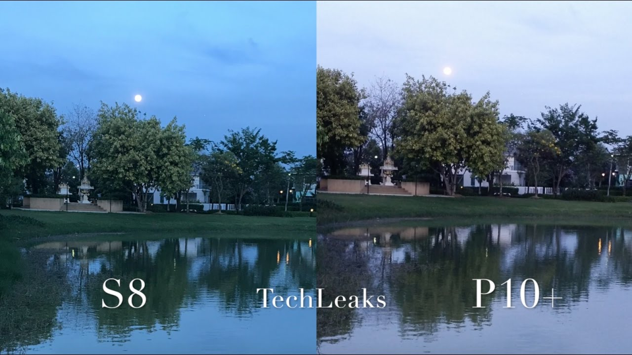 SAMSUNG GALAXY S8 Vs HUAWEI P10 PLUS LOW LIGHT IMAGES TEST