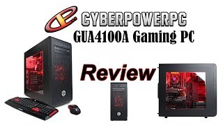 CYBERPOWERPC Gamer Ultra GUA4100A Unboxing Review