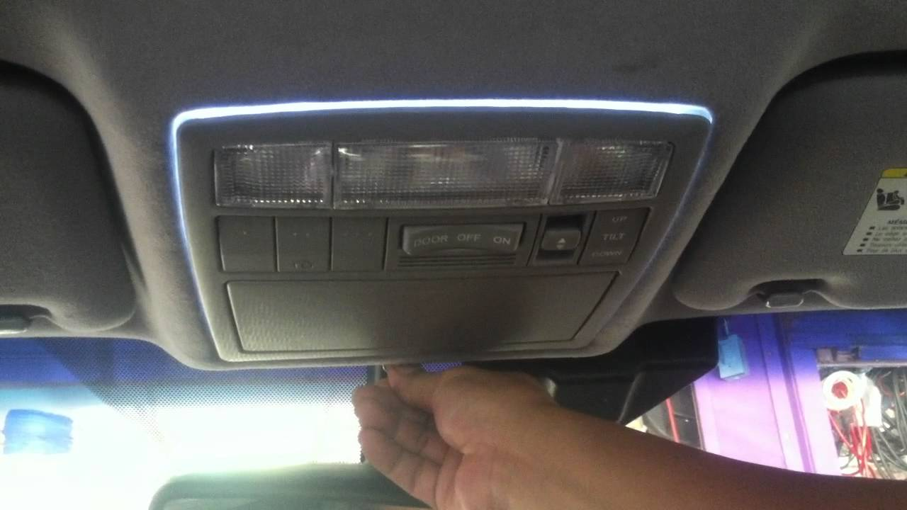 The Led Place Placeled Com Toyota Camry Interior Led
