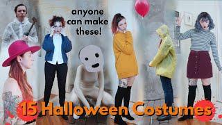 15 DIY Halloween Last-Minute Costumes! 2019