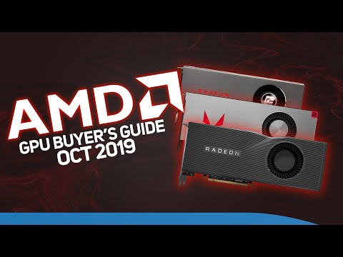 AMD GPU buyers guide  - Which graphics card is the best for you? October 2019