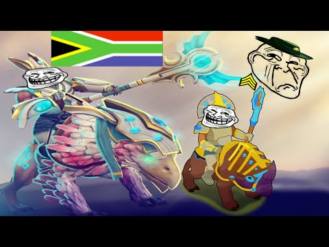 AIDS VOICE VS SOUTH AFRICA LOW PRIORITY (Dota 2 Trolling)