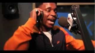 Logan Sama w/ JME, Tempa T + Frisco LIVE BARS on @KissFMUK - 2012/14/05
