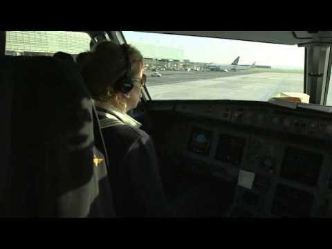 Portrait d'une femme pilote chez Air France
