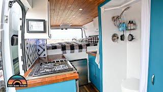 DIY Promaster 3500 Caṁper Van Tiny House W/ Shower & Toilet