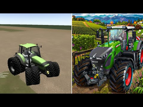Evolution Of Farming Simulator 2008 - 2019