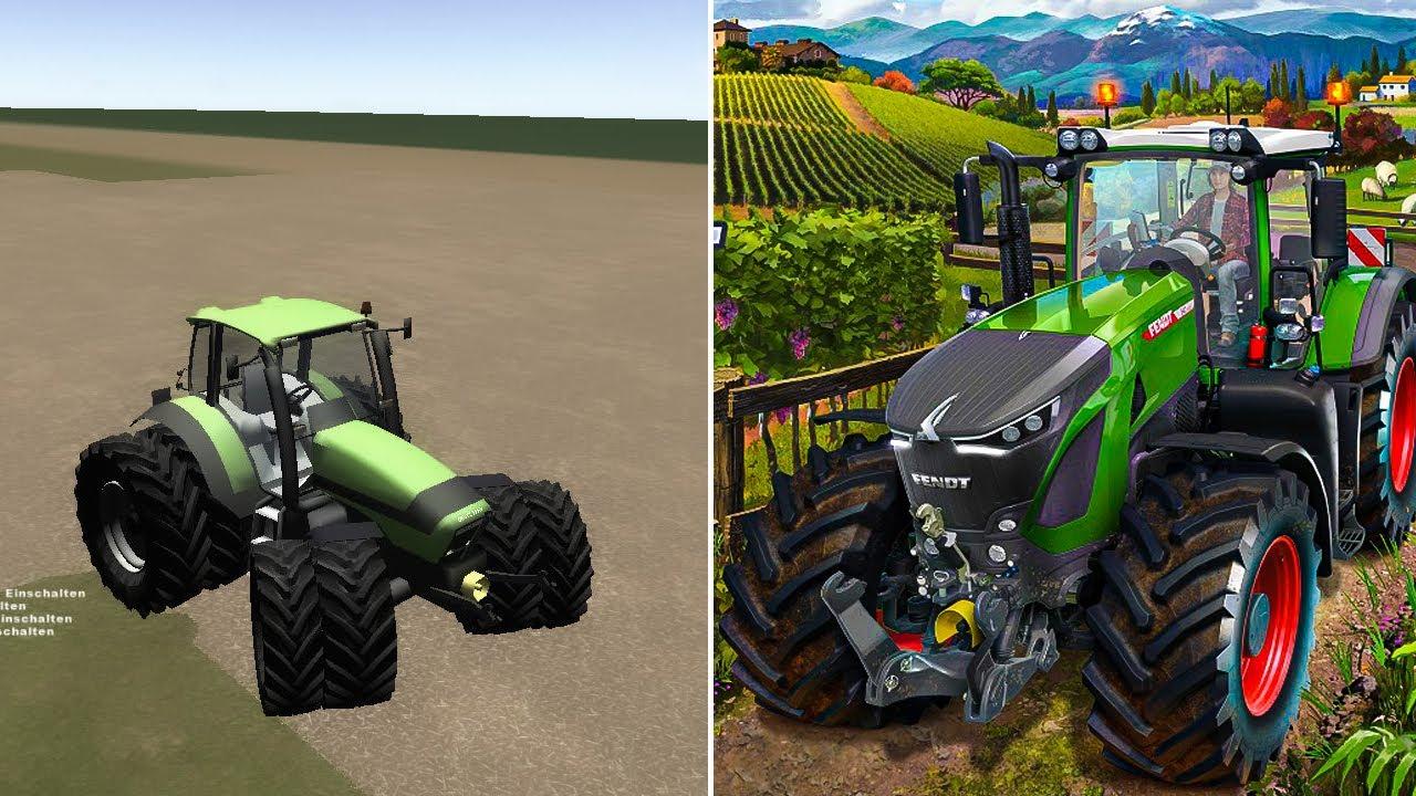 Download Evolution Of Farming Simulator 2008 - 2019